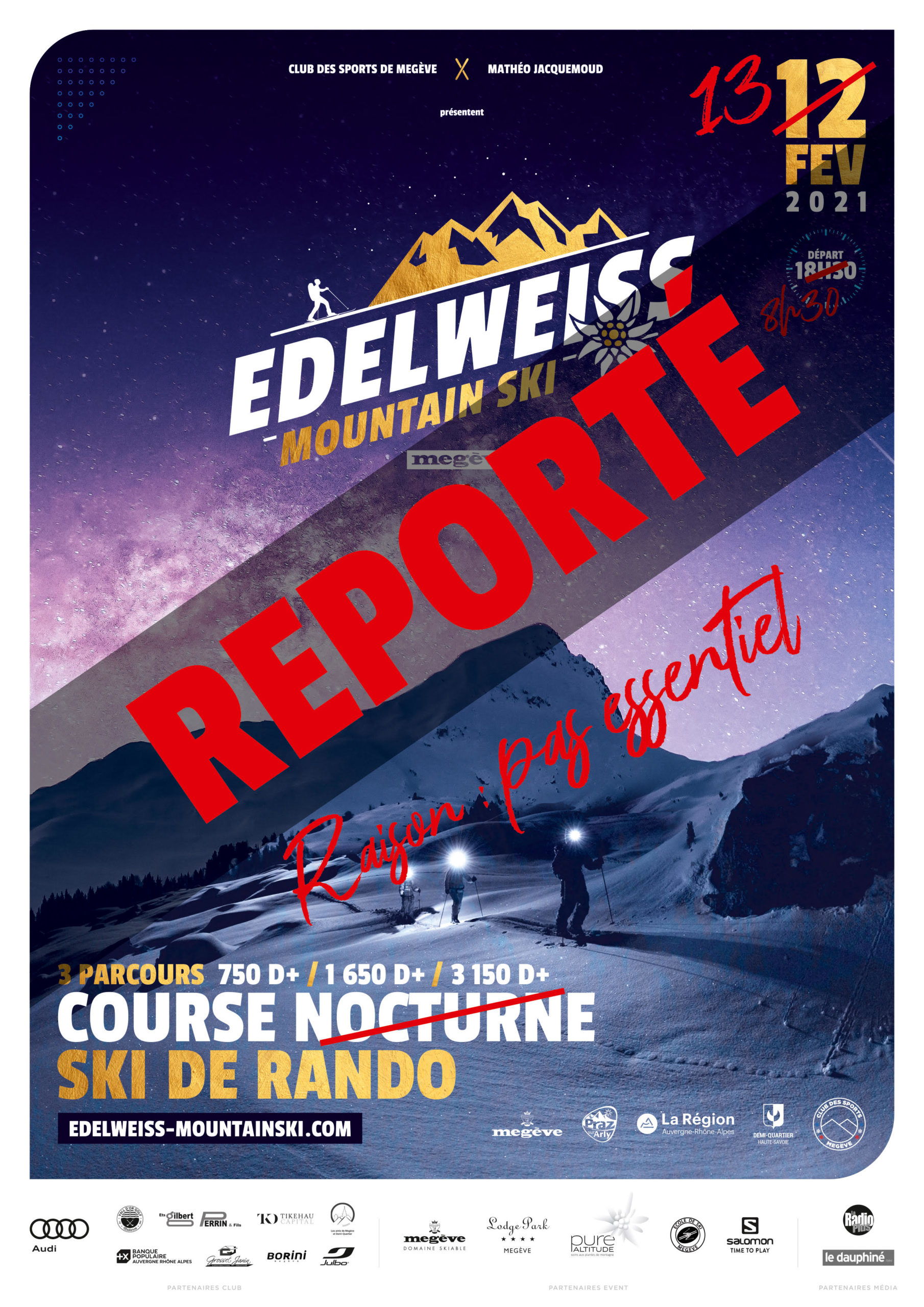 EDELWEISS 2021 : PAS ESSENTIEL